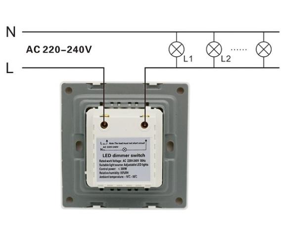 230V valdikliai