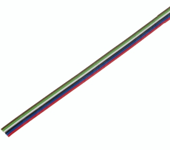 Juostiniai kabeliai - daugiaspalviai