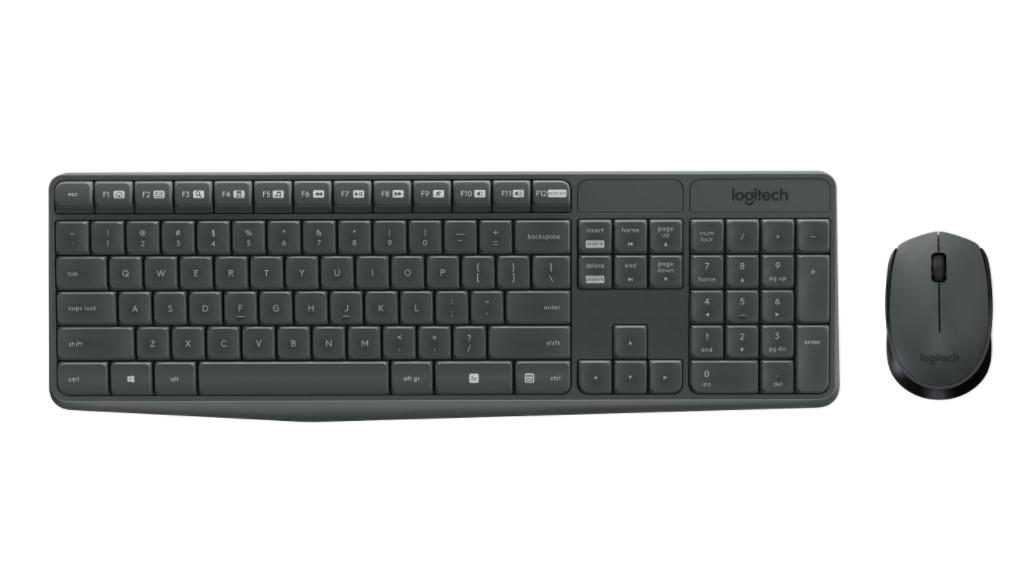 Pelių ir klaviatūrų komplektai