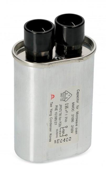 Mikrobangų krosnelių kondensatoriai
