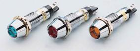 Signalinės lemputės, indikatoriai