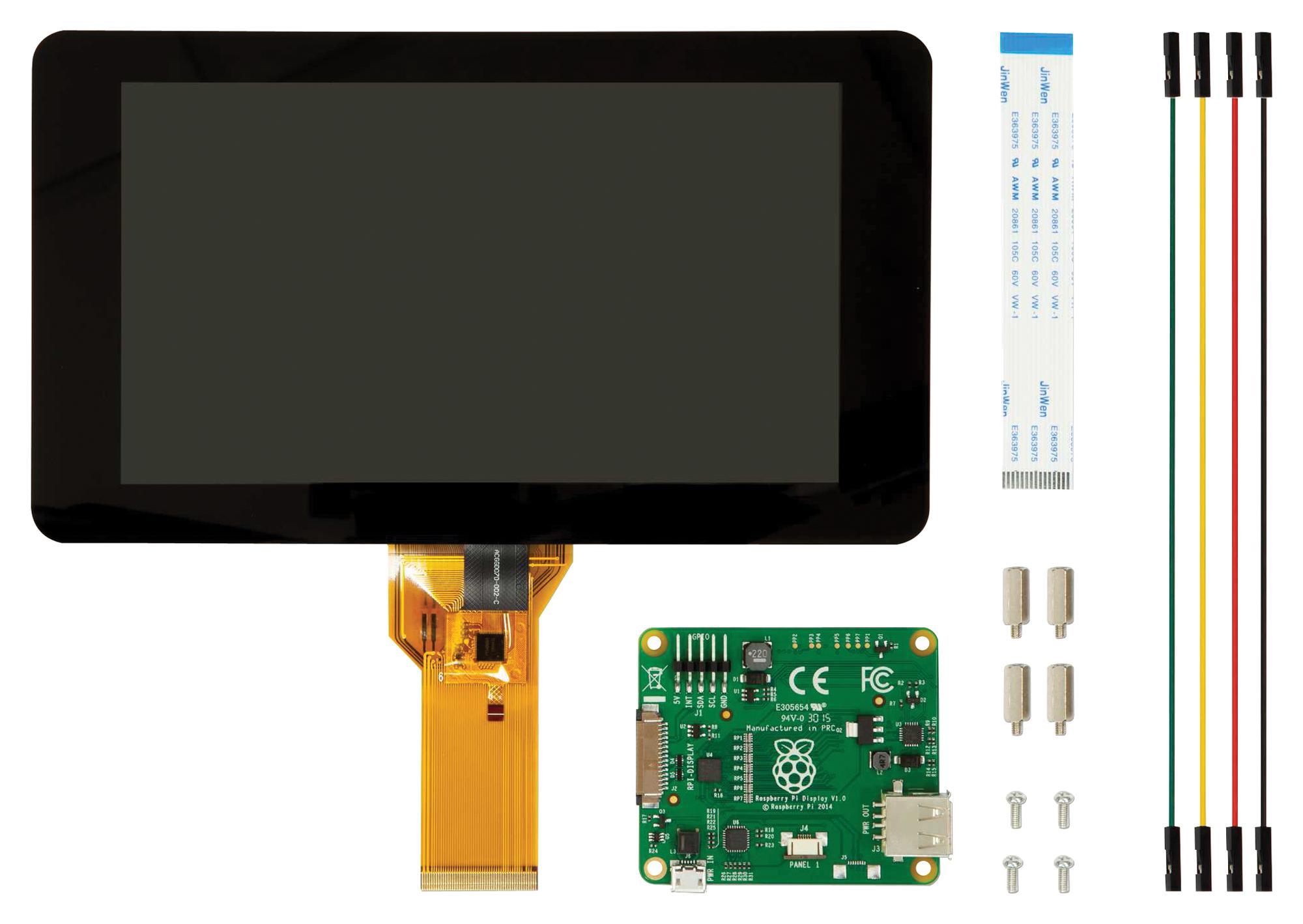 Ekranai, skirti Raspberry Pi