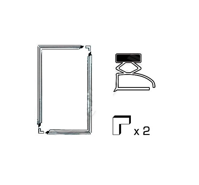 Šaldytuvų ir šaldiklių durų tarpinės