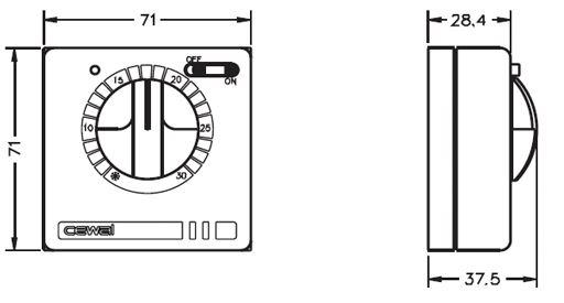 Šildymo sistemos valdikliai