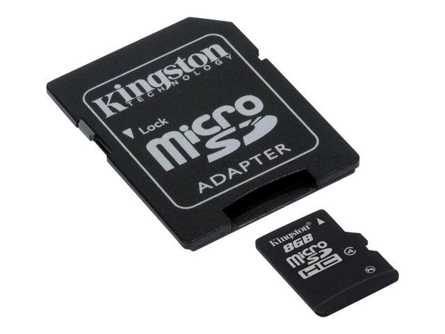 MicroSD kortelės