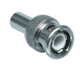Kištukas BNC užspaudžiamas 50Ω RG58 kabeliui