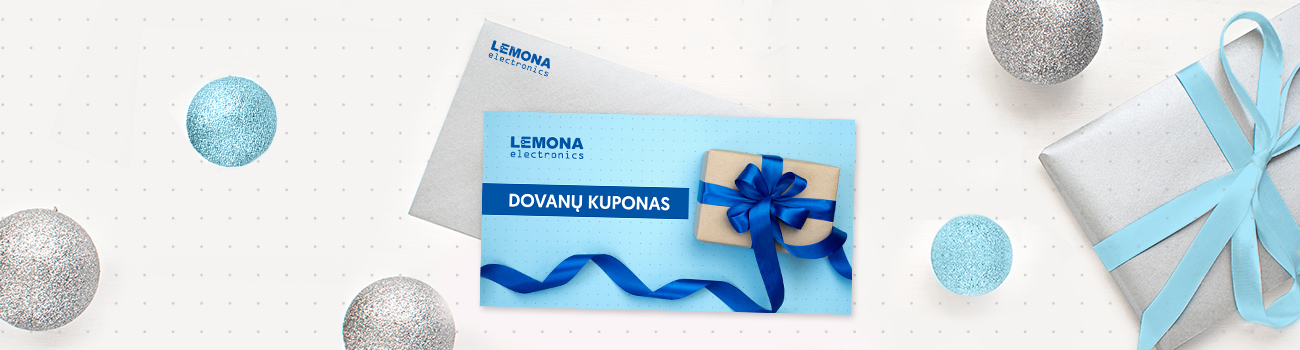 dovanų kuponas LEMONA electronics