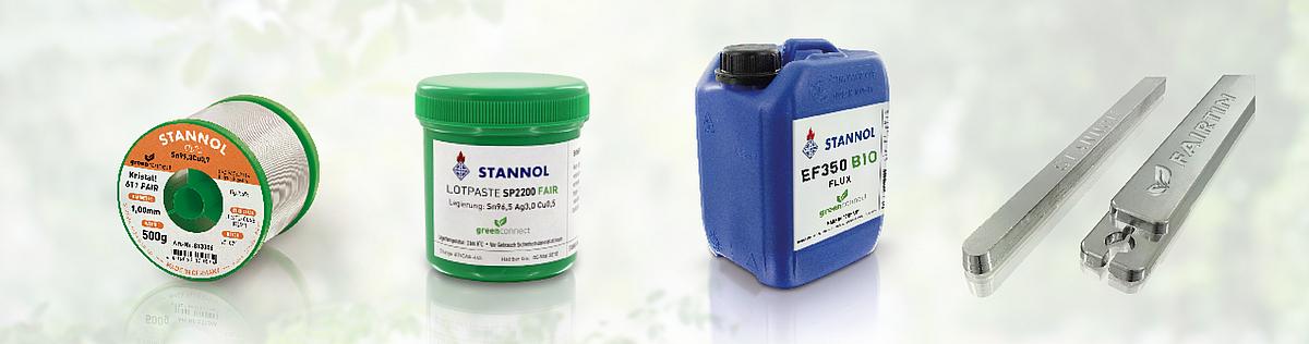 žalioji produktų linija stannol