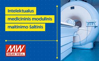 mean well intelektualus medicininis modulinis maitinimo šaltinis