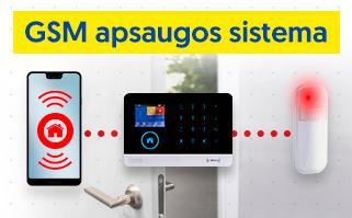GSM apsaugos sistemos