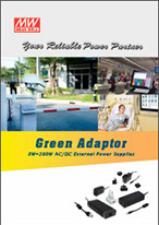 žalieji adapteriai